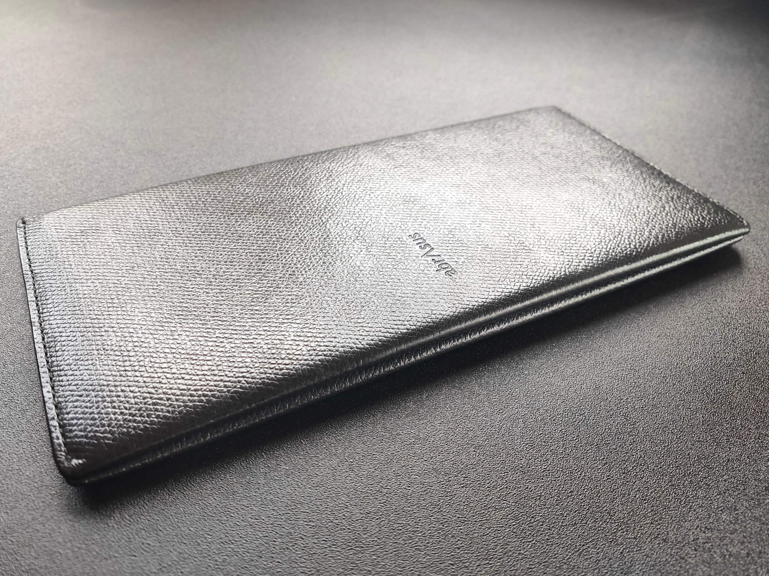 アブラサス 薄い長財布